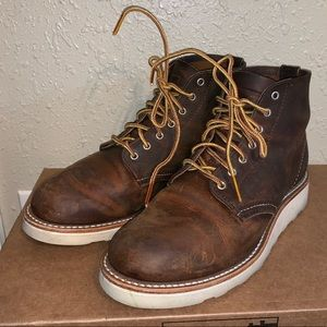 """Red Wing Heritage 6"""" Round Toe Boot Women In Box"""